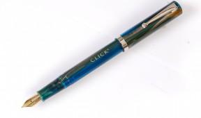 Click BAMBOO Marble Fountain Pen